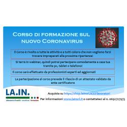 CORSO CORONAVIRUS -...